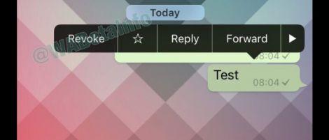 whatsapp kufuta ujumbe uliokwishatumwa