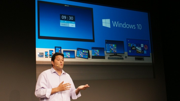 Windows 10 inatumika