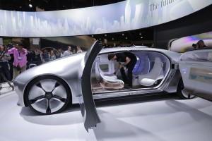 Mercedes F015 Concept, gari linalojiendesha.