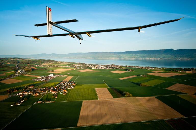 Solar Impulse ikiwa angani kwa majaribio