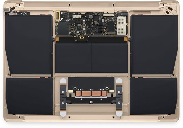 Mfumo wa sasa wa betri ktk MacBook 12'