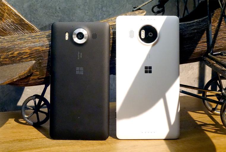 Lumia 950 ikiwa na Lumia 950 XL - Picha kwa hisani ya mtandao wa Engadget