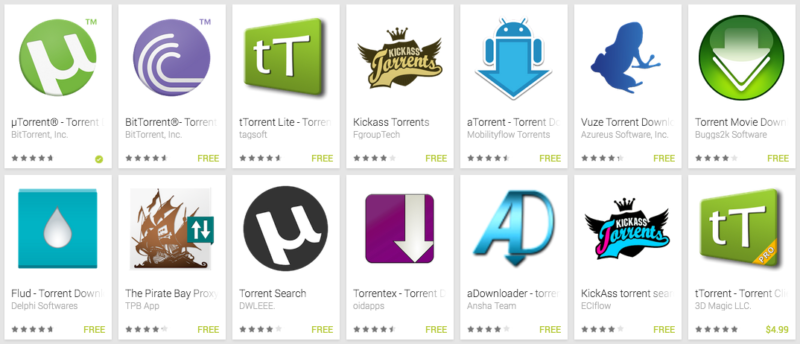 Torrent-apps-Android
