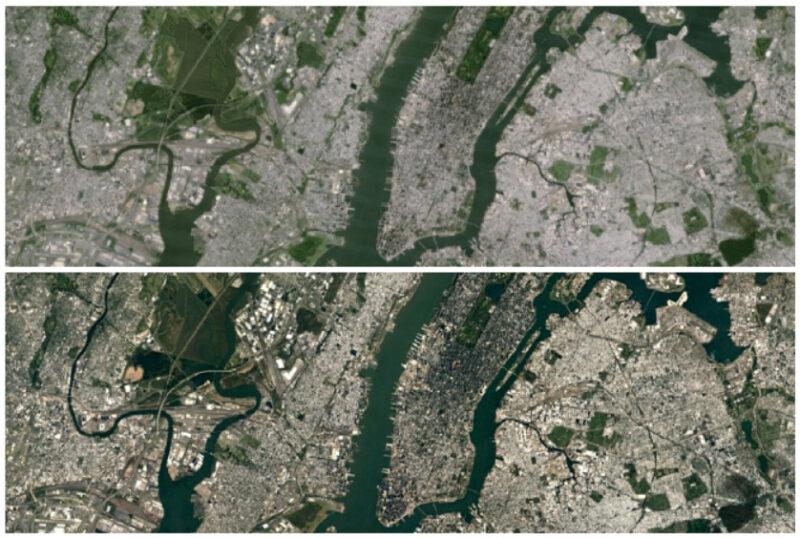 Google Earth-New-York-City-Landsat-8-satellite-imagery