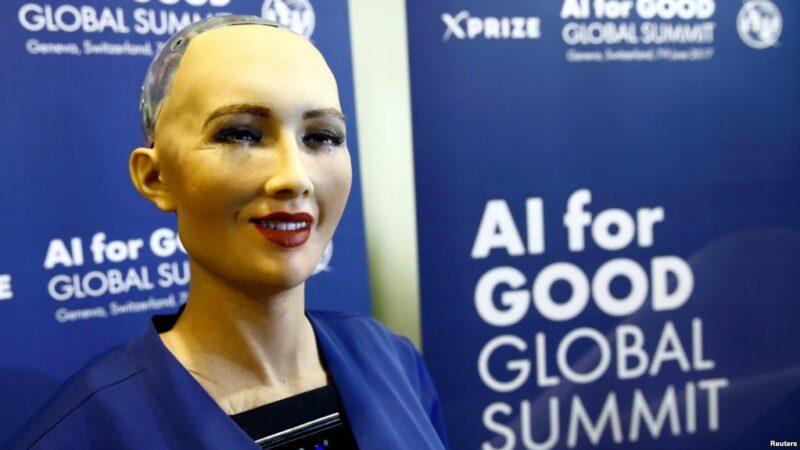 Roboti kupewa uraia roboti sophia