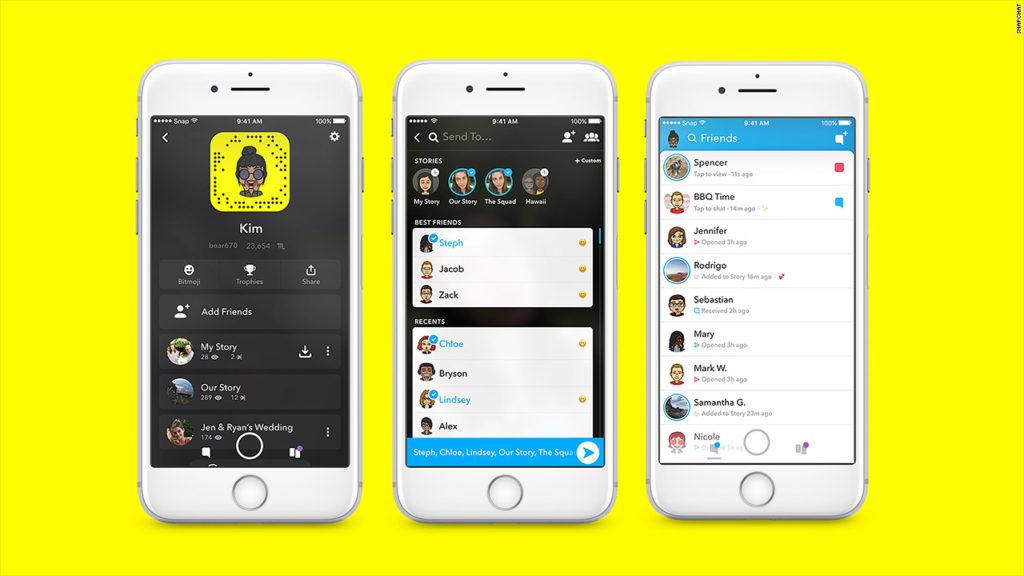 watumiaji wa app ya SnapChat hawajapendezwa na sasisho jipya