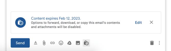 Gmail kuja na barua pepe zinazofutika baada ya muda